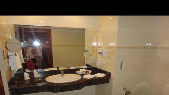 Lazienka w hotelu Coral Hills