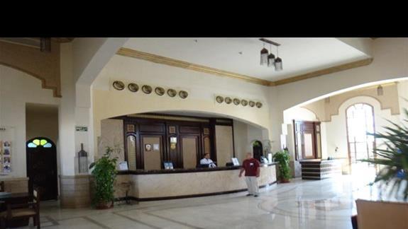 Recepcja w hotelu Sentido Oriental Dream Resort