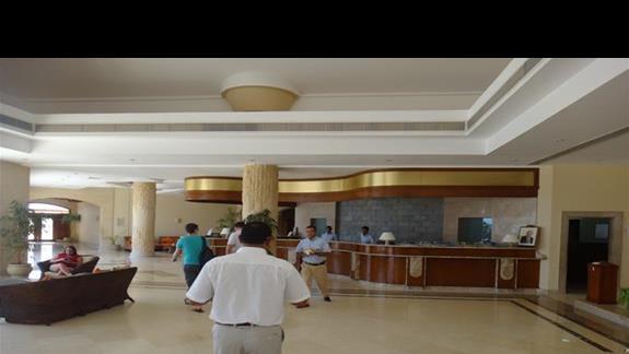 Recepcja w hotelu Three Corners Fayrouz Plaza Beach Resort