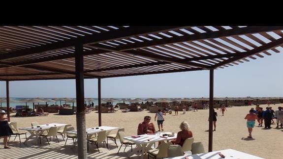 Plaza i restauracja hotelu Three Corners Fayrouz Plaza Beach Resort
