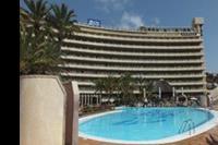 Hotel Gloria Palace San Agustin Thalasso - Hotel widok od strony basenu