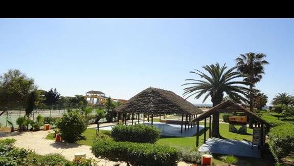 Caribbean World Beach - ogród