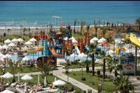 Hotel Sea Planet Resort & Spa - Sea Planet Resort. Widok na zjezdzalnie dla maluchów.