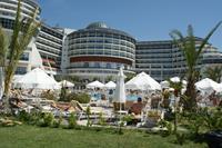 Hotel Seaden Sea Planet Resort & Spa - Sea Planet Resort. Teren obok mini clubu.