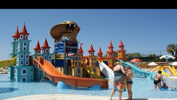 Sea Planet Resort. Zjezdzalnie dla maluchów.