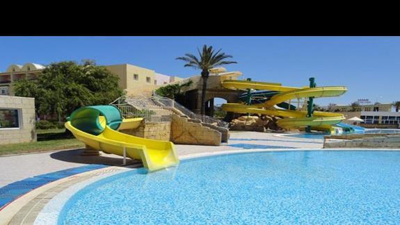 Houda Golf & Beach Club - zjeżdżalnie wodne