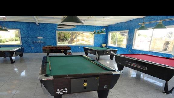Houda Golf & Beach Club - pokój gier