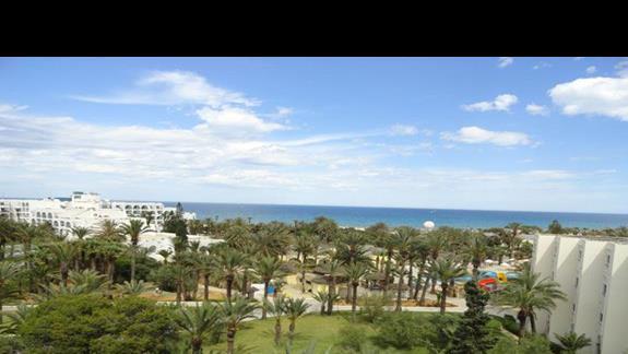 Marhaba Resort - widok z pokoju