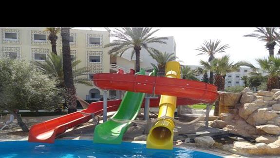 Marhaba Resort - zjezdzalnie