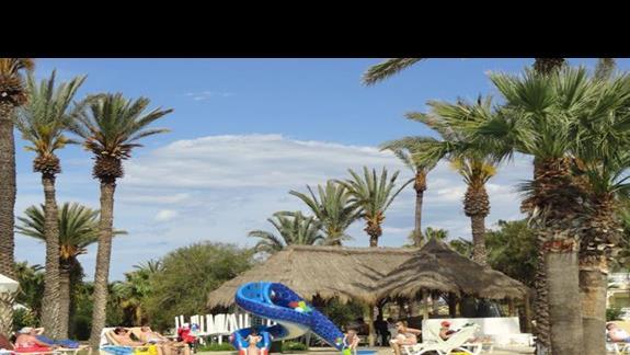 Marhaba Resort - brodzik ze zjezdzalnia