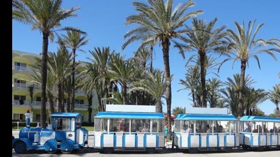 One Resort Monastir - hotelowy pociąg