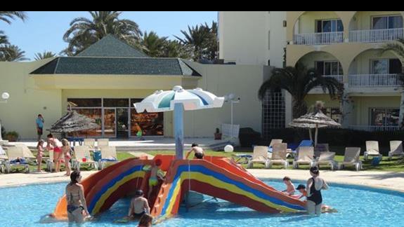 One Resort Monastir - małe zjeżdżalnie