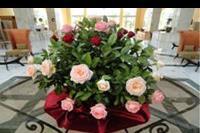 Hotel Iberostar Kantaoui Bay - Riu Imperial Marhaba - pachnące kwiaty w lobby