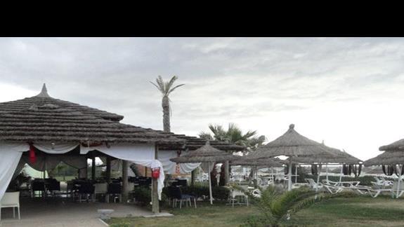 Vincci Nozha Beach - restauracja na plaży