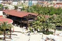 Hotel Sultan of Side - Sultan of Side. Widok z tarasu na bar przy basenie.