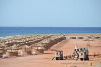 Hotel Strand Taba Heights Resort - Czysta i zadbana plaza z czerwonym miekkim piaskiem :)