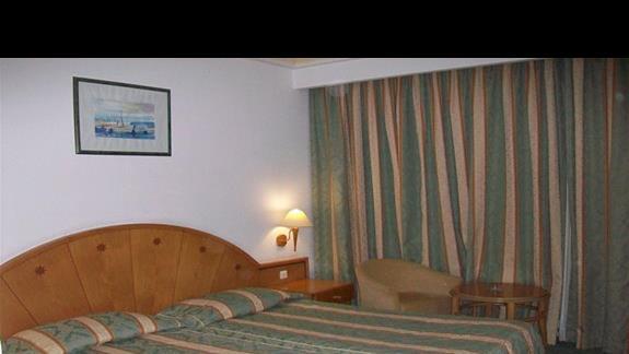 Hotel El Mouradi Hammamet pokoj standard