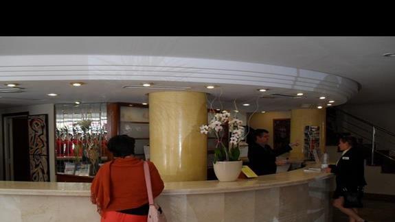 Recepcja hotelu Nordeste Playa