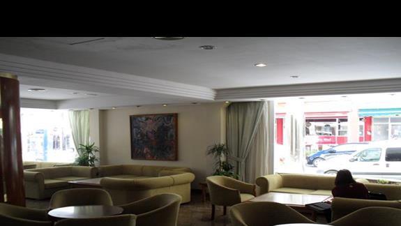 Lobby hotelu Nordeste Playa