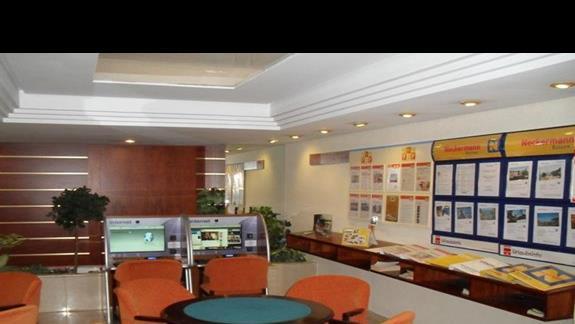 Punkt informacyjny i kacik internetowy hotelu Nordeste Playa