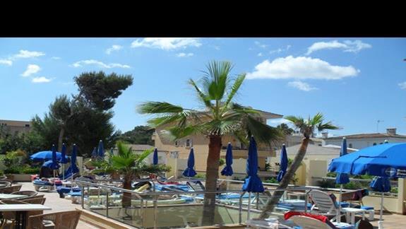 Ogród hotelu Nordeste Playa