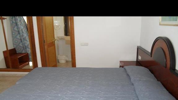 Pokój dwuosobowy w hotelu Nordeste Playa