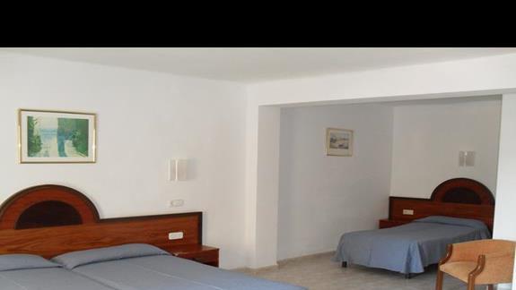 Pokój rodzinny w hotelu Nordeste Playa