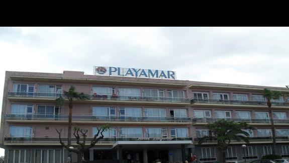 Budynek hotelu Playamar