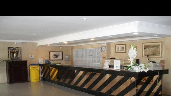 Recepcja hotelu Playamar