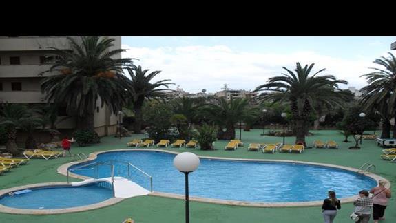 Basen hotelu Playamar