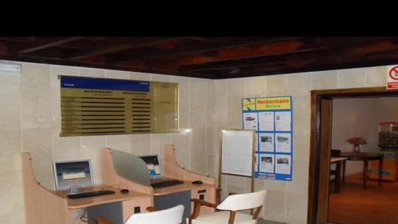 Kacik internetowy w hotelu Playamar