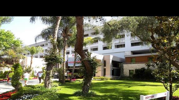 Wejscie do hotelu Mirada del Mar