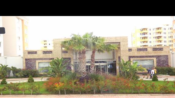 Hotel Ramada Resort Lara od frontu