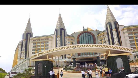 Hotel Delphin Imperial od frontu