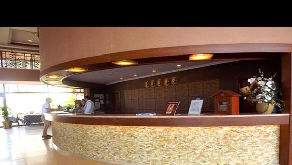 Recepcja w hotelu Turan Prince Residence