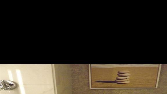 Lazienka w pokoju standardowym w hotelu Sentido Gold Island