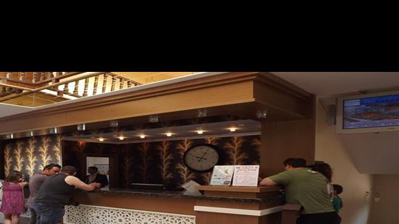 Recepcja w hotelu Eftalia Village