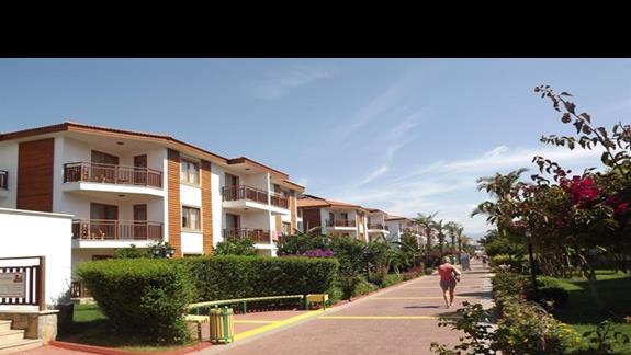 Budynki mieszkalne w hotelu Eftalia Village