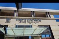 Hotel Porto Platanias Beach - Front hotelu