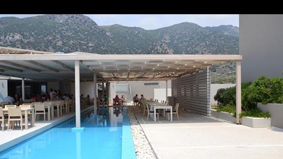 Restauracja w hotelu Akti Palace