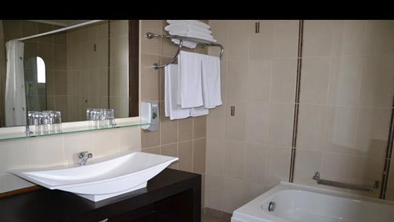 Lazienka w hotelu Gaia Palace
