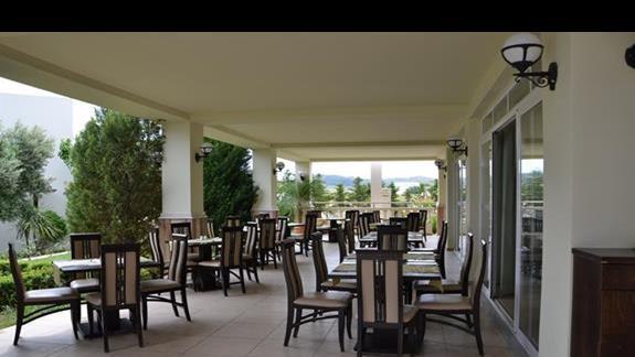 Restauracja w hotelu Gaia Palace