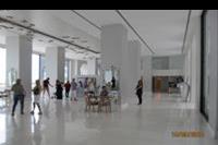 Hotel Mitsis Alila Resort & Spa - LObby z recepcja w tle