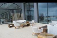 Hotel Mitsis Alila Resort & Spa - Wyjscie na teren hotelowy od strony morza