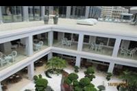 Hotel Mitsis Alila Resort & Spa - Widok z góry na restauracje