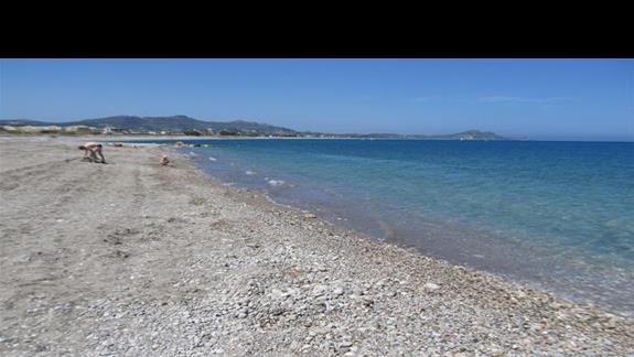Zejscie do morza