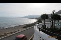 Hotel Coralli Beach - Plaza widok z tarasu restauracji