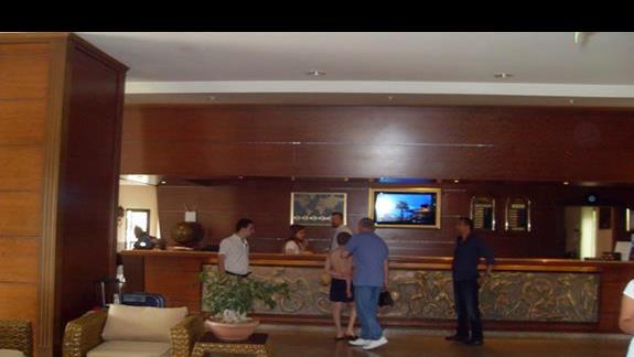 Recepcja hotelu Golden Age