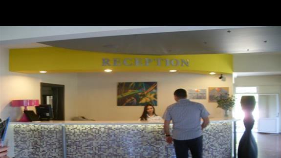 recepcja hotelu Pigale Beach