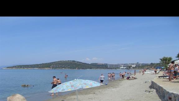 plaza hotelu Pigale Beach